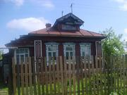 Бревенчатый дом в Родниках.